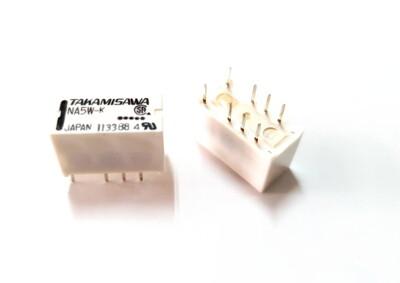 『正典UCHI電子』TAKAMISAWA 富士通 NA5W-K 5V 繼電器 2P 8Pin (4.3折)