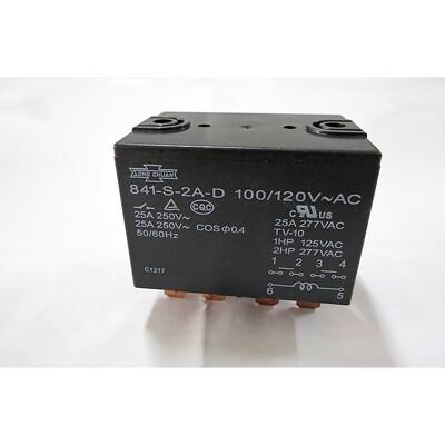 『正典UCHI電子』 SONG CHUAN 松川繼電器 編號:841-S-1A-D 110VAC 冷 (3.8折)