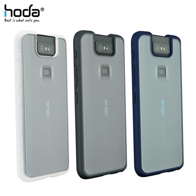 hoda【ASUS ZenFone 6 (ZS630KL) 6.4吋】 柔石軍規防摔保護殼 (6折)