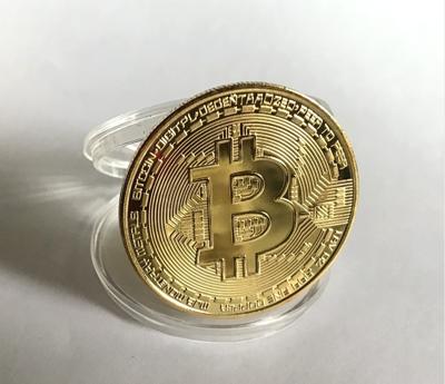 bitcoin 比特硬幣金幣 eth 以太幣 虛擬幣 小禮物 生日 虛擬幣收藏 (9折)