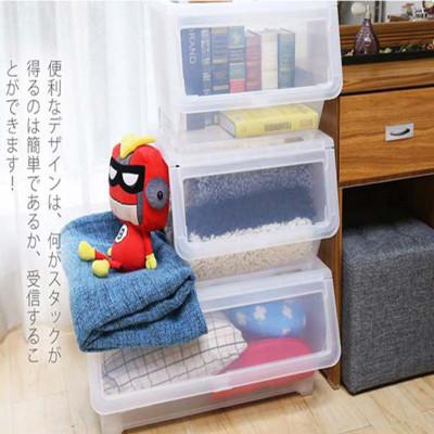 聯府 20公升 上掀式可堆疊 LF520 收納箱 掀蓋式 整理箱 直立收納櫃 收納籃 (1.4折)