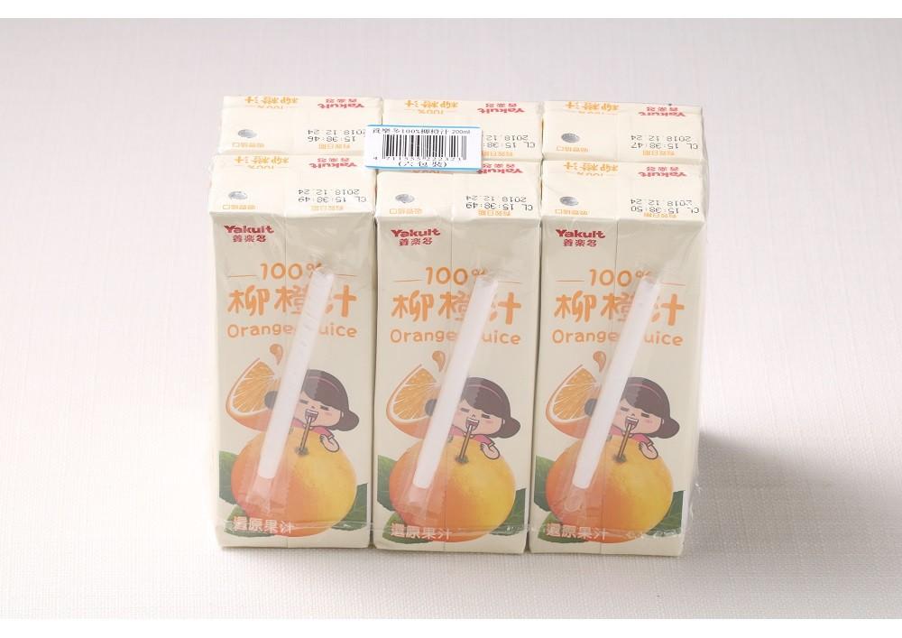 yakult 養樂多 100%鮮果汁(柳橙&蘋果) 任選
