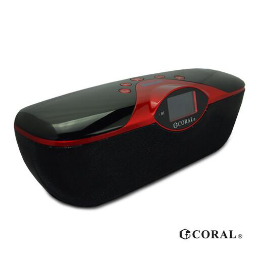 coral bt-568 多功能可攜式藍芽鬧鐘音響
