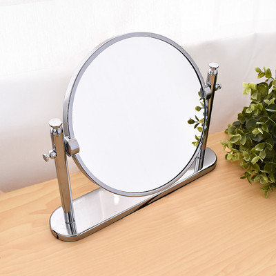 【凱堡】質感雙面圓形桌鏡 鏡子/化妝鏡(桌鏡)【H02038】