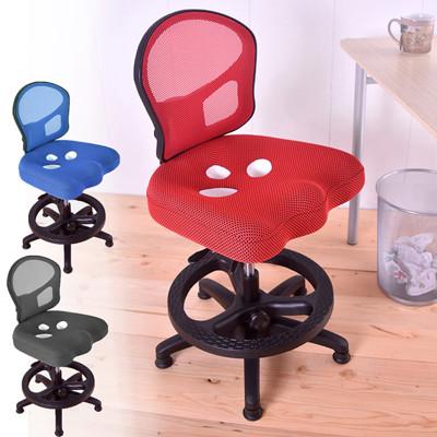 背座可調多段成長椅 三孔挺脊護腰成長椅 學習椅 兒童椅 (3.9折)