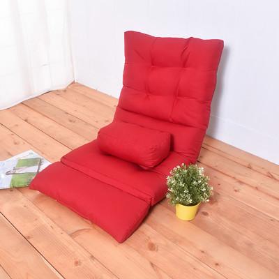 凱堡 慵懶風多功能和室椅(附小抱枕)-紅【J03070-01】 (4.5折)