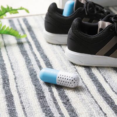 球鞋膠囊幹燥劑 鞋子除臭除濕防黴殺菌去異味櫥櫃去甲醛幹燥2粒裝 (5.8折)