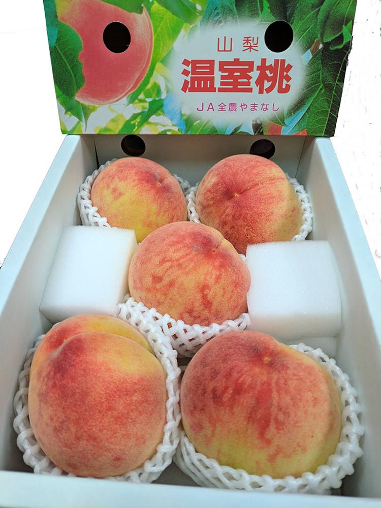 【水果行家】日本山梨縣溫室水蜜桃 原箱 5-6顆入