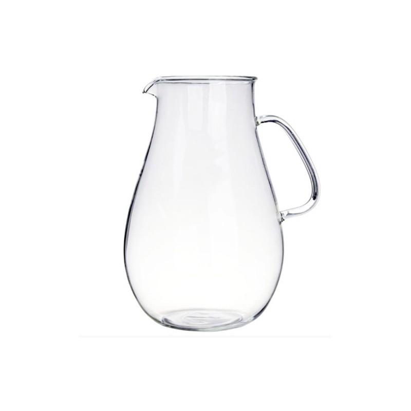 茶大師 玻璃壺身系列 寶瓶壺身2000ml玻璃壺 茶壺 耐熱玻璃壺 水壺 耐高溫貨