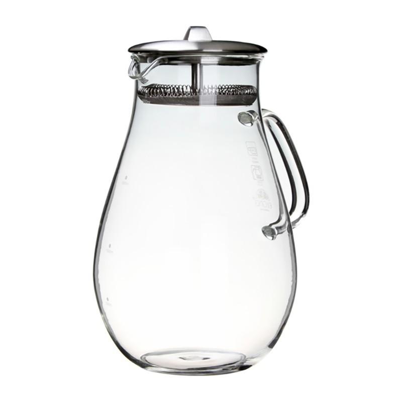 茶大師寶瓶壺-(2000ml) 茶壺 玻璃壺 泡茶壺 茶壺 玻璃茶壺 耐熱 現貨