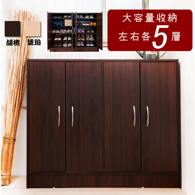 台灣製四門五層大容量收納鞋櫃 櫃子 收納櫃 置物櫃 書櫃 儲物櫃 玄關櫃 SC002