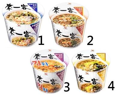 來一客鮮蝦魚板/牛肉蔬菜/京燉肉骨/韓式泡菜(12碗) (9.7折)