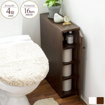 收納櫃  縫隙櫃 浴室架 浴室收納櫃 廁所收納 馬桶邊櫃 台灣製|宅貨