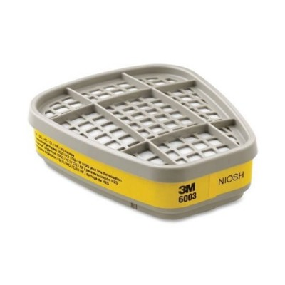 3M-6003 有機酸性氣體 濾毒罐 噴農藥使用 適用62007502口罩 1包2入 (6.5折)