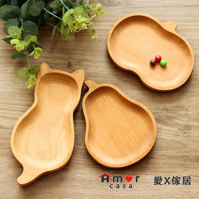 造型實木餐盤 (6.9折)