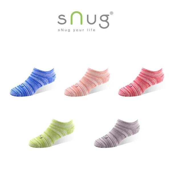 snug繽紛時尚船襪 (除臭襪/船型襪/短襪)