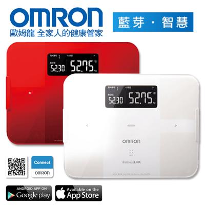 【康諾健康生活】歐姆龍OMRON 藍芽智慧體重體脂計HBF-254C (6.4折)