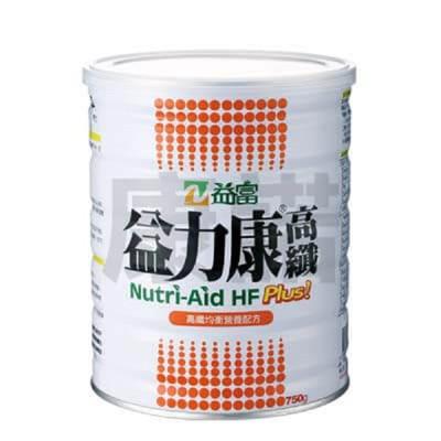 【康諾健康生活】益富 益力康高纖Plus 營養均衡配方 750g 單罐 (9.2折)
