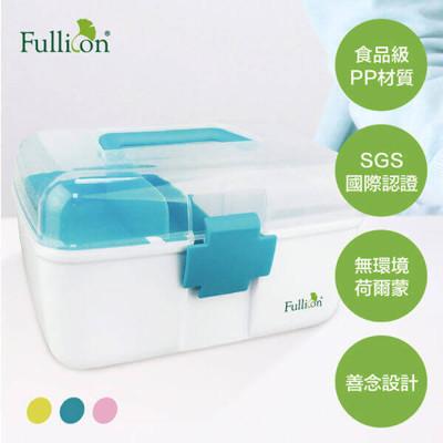 【康諾健康生活】 Fullicon護立康 馬卡龍配色 雙層家庭保健醫藥箱 急救箱 FB003 (6.5折)