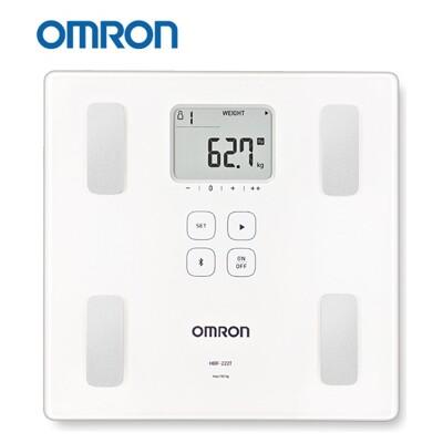 【歐姆龍OMRON】藍芽體重體脂肪計 HBF222T,贈:純棉運動毛巾x1 (7.5折)