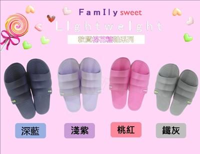 ✿ 情侶款拖鞋 ✿ 韓風棉花糖鞋 長輩最愛按摩舒壓鞋 防水 防滑 外出室內都皆宜 軟質按摩室內拖鞋 (3折)