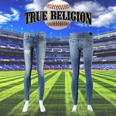 【美國好褲】TRUE RELIGION Halle Baseball Stitched 系列 (6.9折)