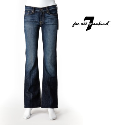 7 FOR ALL MANKIND TAILOR LESS系列 靴型牛仔褲 【美國好褲】 (7.7折)