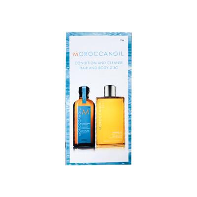 moroccanoil 摩洛哥優油 正品公司貨 摩洛哥優油125ml+沐浴膠 禮盒組 (7.5折)