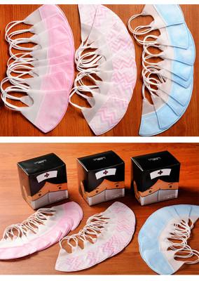 MIT兒童/大人3D立體口罩,款式:藍色/粉色(50入裝)波浪/糖果(30入) (3.1折)