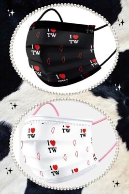 【荷康】雙鋼印 成人口罩 兒童口罩 醫療口罩 MIT☆丰荷一般醫用口罩☆台灣加油 我愛台灣煙花 (4.4折)