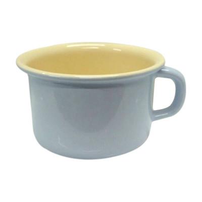 【奧地利RIESS】琺瑯寬口馬克杯10cm / 0.4L咖啡杯/琺瑯杯(淺藍色) (8折)
