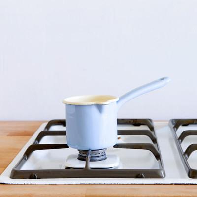 【奧地利RIESS】琺瑯單柄牛奶鍋/醬料鍋0.5L(粉藍色) (7.5折)