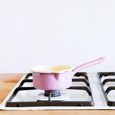 【奧地利RIESS】琺瑯單柄醬料鍋0.5L/12cm(粉紅色) (7.2折)