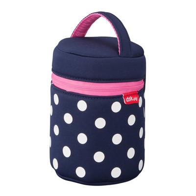 【日本CB JAPAN】水玉點點-可洗可拆保冷保溫手提湯袋(3色)/可洗可拆保冷保溫手提壺袋(3色) (8折)