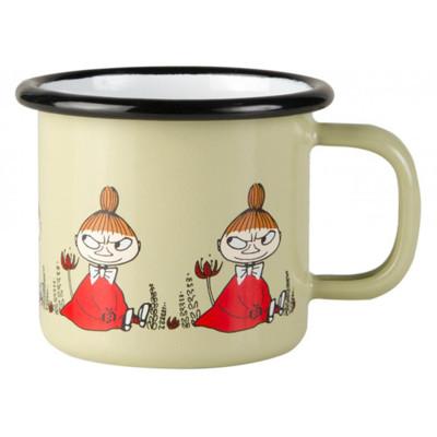 芬蘭Muurla 嚕嚕米系列-朋友系列小不點150cc(淺黃色)濃縮咖啡杯/琺瑯杯 (7.2折)