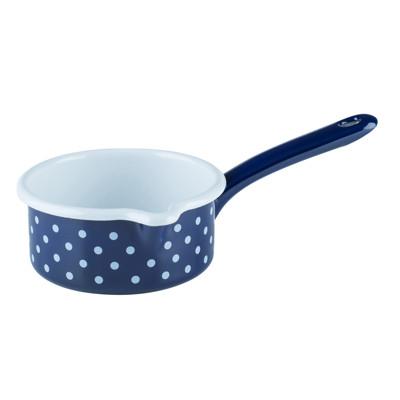【奧地利RIESS】鄉村少女琺瑯單柄牛奶鍋/醬料鍋0.5L (6.7折)