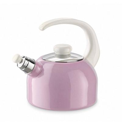 【奧地利RIESS】琺瑯笛音壺/水壺2L(3色)粉藍/粉紅/粉綠 (7.8折)
