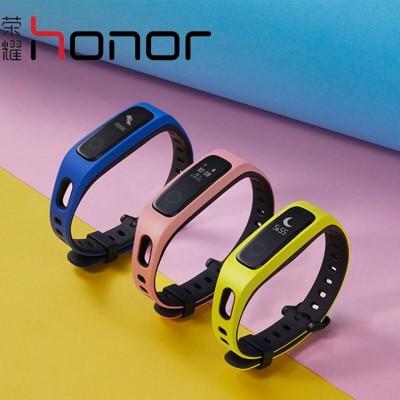 華為榮耀手環4防水智慧手環4Running版計步器健康監測手錶智慧提醒男女運動手環 跑姿監測長 (6.5折)