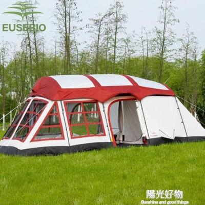 帳篷兩房一廳戶外野營防雨8人10人12人二室一廳多人大 (8.4折)