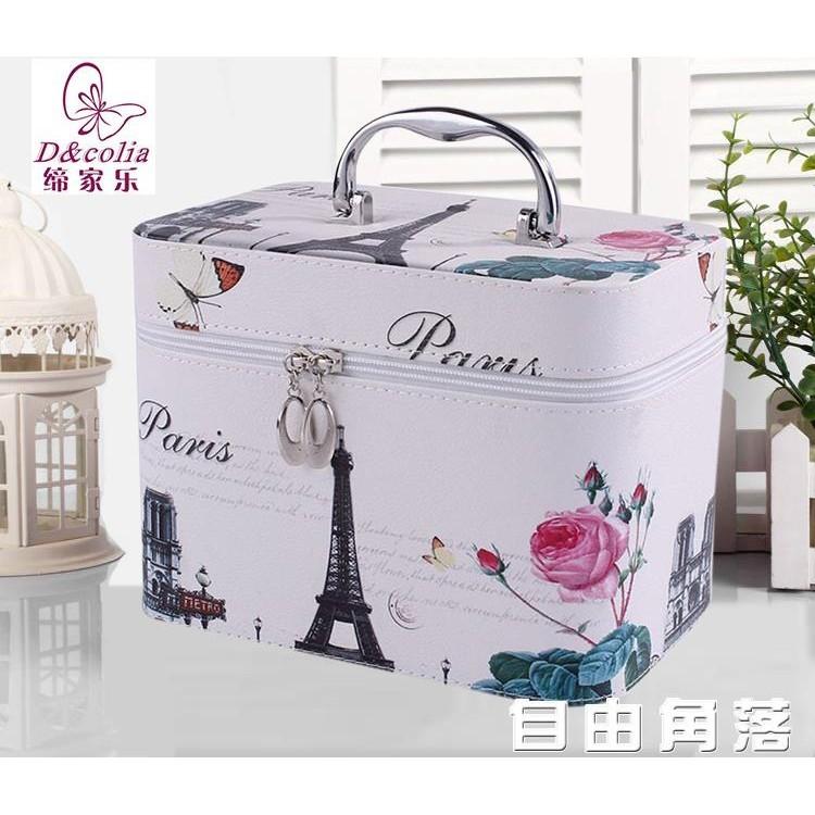 方便攜帶 儲物箱  化妝盒子 化妝箱 締家樂專業化妝包洗漱收納包大容量