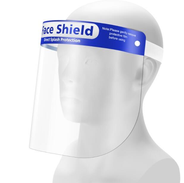 防護面罩5個裝 防疫用品防護眼防飛沫罩雙面防霧透明高清面屏廚房做飯防油濺油煙