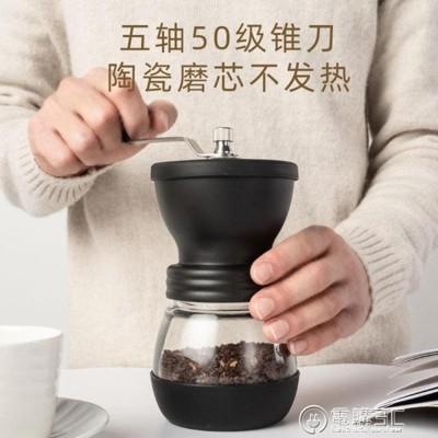 手搖磨豆機手動咖啡豆研磨機手磨咖啡機家用小型磨粉機水洗粉碎器 - 雙軸款 磨豆機 (4.7折)