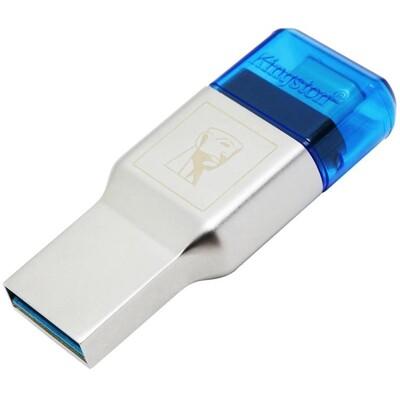 讀卡器 kingston金士頓 FCR-ML3C 高速USB3.1 type-c雙接口 讀卡器 雙1 (6.3折)