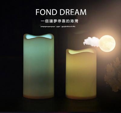 【出清】七彩遙控12色LED蠟燭燈 (3.6折)