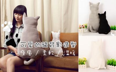 超療癒貓咪舒適靠墊大抱枕