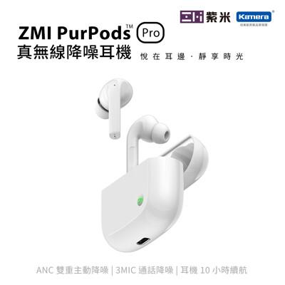 台灣公司貨 ZMI 紫米 PurPods Pro TW-100 真無線藍牙降噪耳機-白色 (7.6折)
