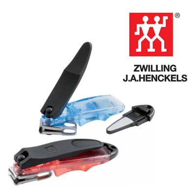 德國帶回雙人牌Zwilling五向式多角度可旋轉指甲剪 附可拆式銼刀 (藍.紅兩款) (6.4折)