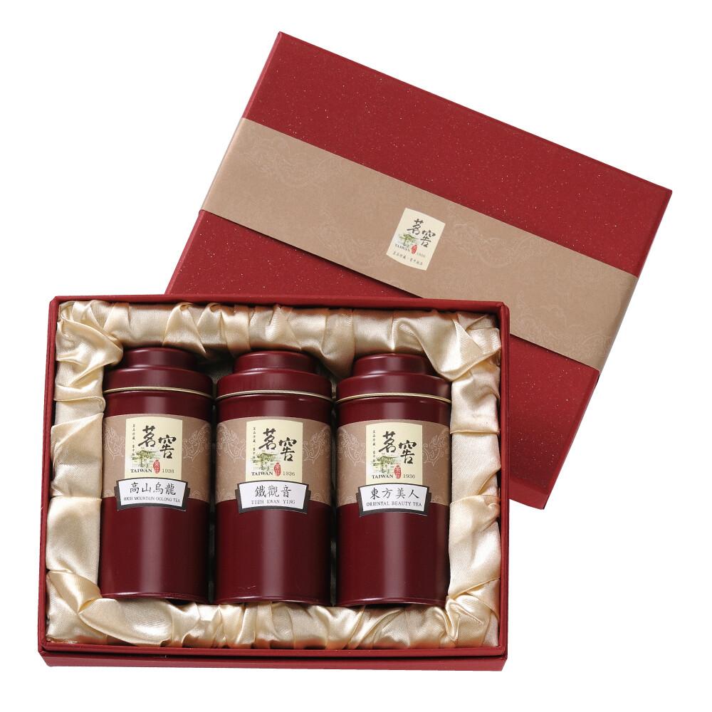 原味茶包茶葉禮盒(高山烏龍蜜香紅茶凍頂烏龍茶)