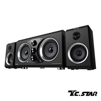 T.C.STAR三件式多媒體重低音喇叭TCS3500 (6.7折)