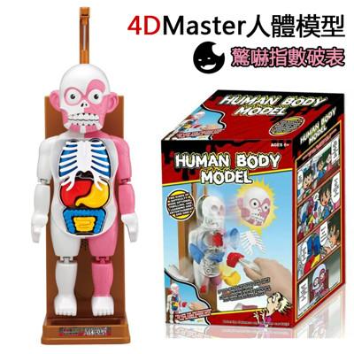 4D master人體拼裝模型人體模型桌遊 (5折)